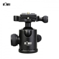 KIWIFOTOS KWBH-2 Professional Ball Head With Quick Release Plate for Tripod (Max 8kg)